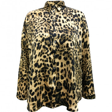 NÛ | Avery Shirt w/ Leopard 6187