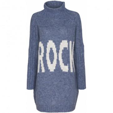 Marta du Chateau | Rock Knit i Blue