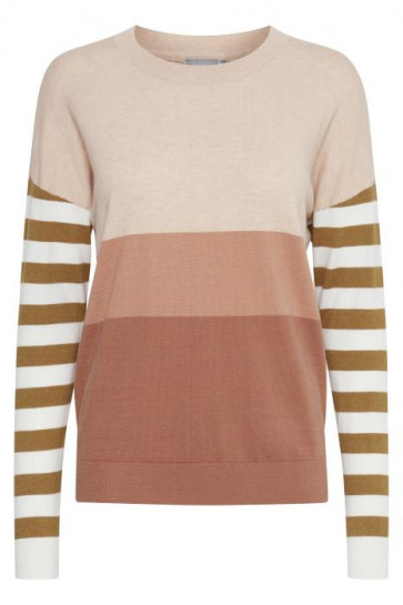 Fransa   Frcemalange Knit 2 Pullover i Cedar Mix