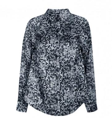 NÛ | Galina Shirt i Blue 6705