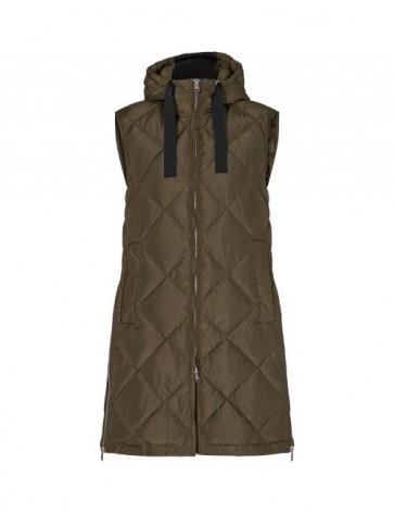Levete Room   Gibella 6 Oversized Waistcoat i Army