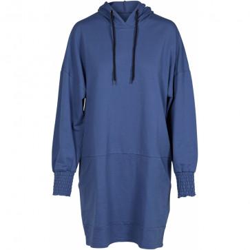 NÛ | Gina Sweat Dress i Ocean Blue E0005