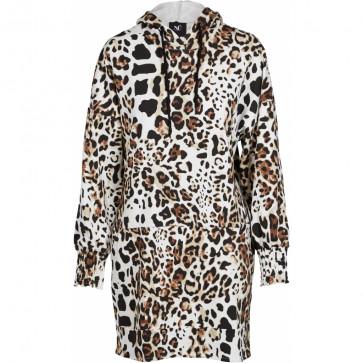 NÛ | Gill Sweat Dress i Creme E00005