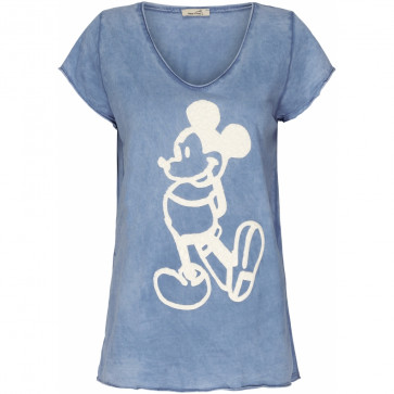 Marta du Chateau | Tee i Jeans Blue w Mickey