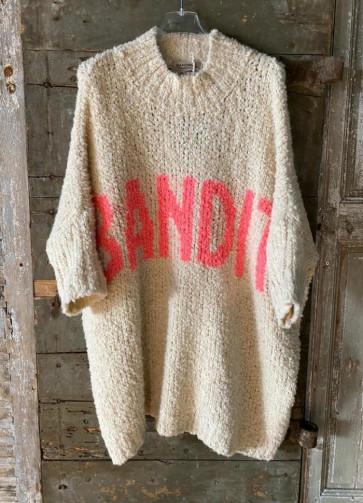 Cabana Living | Banditas Oversized Knit i Offwhite w koral
