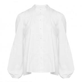 Noella | Kiki Pearl Shirt Poplin i White