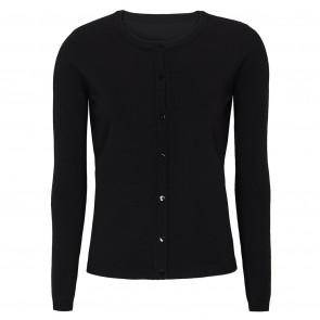 Soft Rebels   Zara O-Neck Cardigan i black