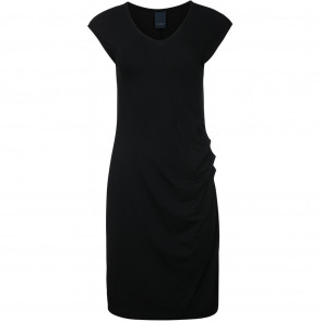 One Two | Eleanor Solid Dress i Black