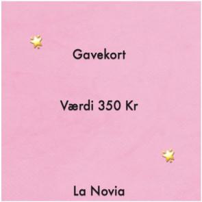 La Novia Gavekort Værdi 350,-