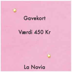 La Novia Gavekort Værdi 450,-