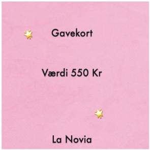 La Novia Gavekort Værdi 550,-