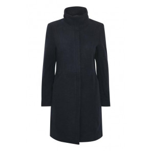 Soaked In Luxury | Stockholm Coat i Navy