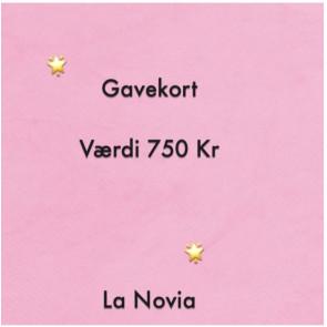 La Novia Gavekort Værdi 750,-