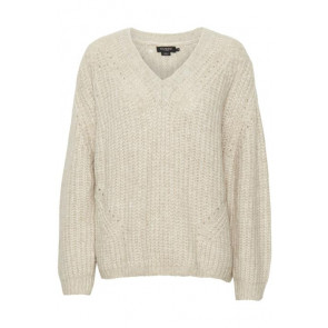 Soaked In Luxury | Vivian Oversized V-neck Pullover
