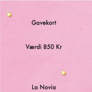 La Novia Gavekort Værdi 850,-