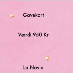 La Novia Gavekort Værdi 950,-