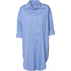NÛ | Abby Oversized Shirt i Blue