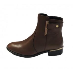 Copenhagen Shoes | Alissa Boots i Cognac