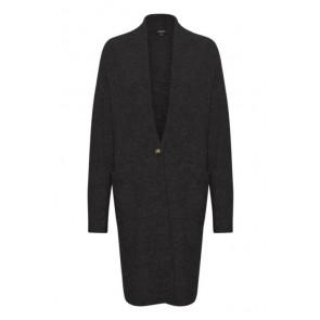 Soaked In Luxury   Amaya Long Knit Cardigan i black