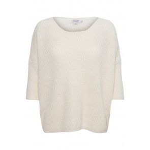 Soaked In Luxury | SL Tuesday Cotton Jumper i Whisper White