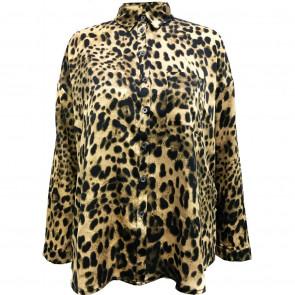 NÛ   Avery Shirt w/ Leopard 6187