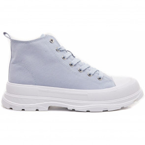 Marta du Chateau | Canvas Sneakers i Blue