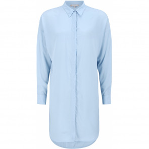 Soft Rebels | Oversized Long Shirt i Light Blue