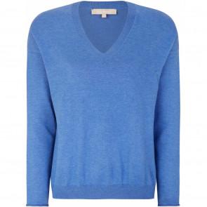 Soft Rebels | Marla Oversized Knit i Riverside Blue