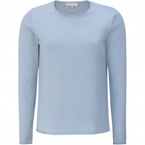 Soft Rebels | Marla O-Neck Knit i Light Blue