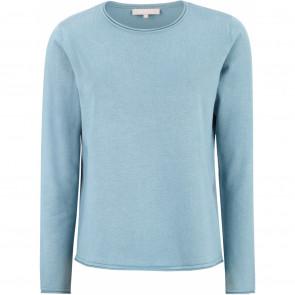 Soft Rebels | SR O-neck Knit I Smoke Blue