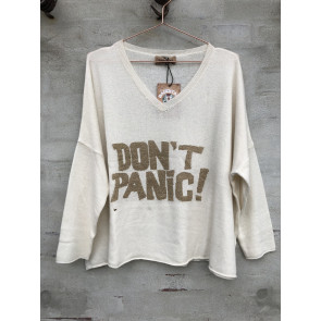 Cabana Living | Dont Panic Pullover w Sand