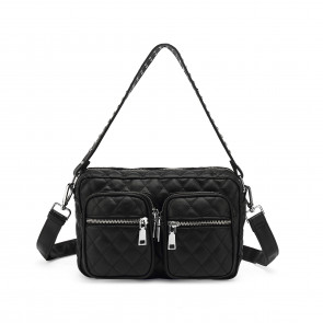 Noella | Celina Cross Over Bag i Fluffy Black