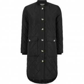 Soft Rebels | Eileen LS Quilt Coat i Black