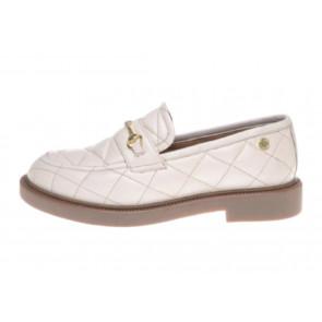 Copenhagen Shoes | Embrace Quilted Loafer i Sand