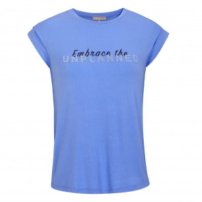 Soft Rebels | Embrace Tee i Blue