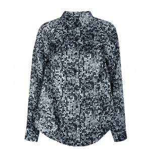 NÛ | Galina Shirt i Blue 6705