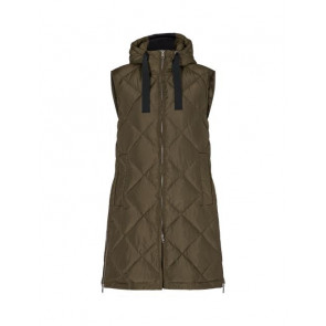 Levete Room | Gibella 6 Oversized Waistcoat i Army