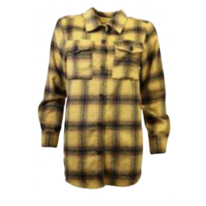 Ofelia | Darla Shirt i Yellow Checks