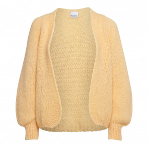 Noella | Fora Knit Cadigan i Yellow Melange