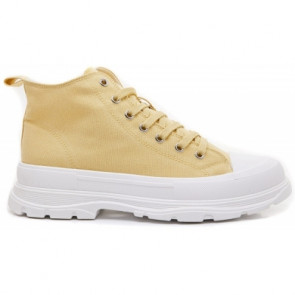 Marta du Chateau | Canvas Sneakers i Yellow