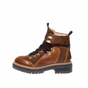 Copenhagen Shoes | Hipster Boot i Cognac