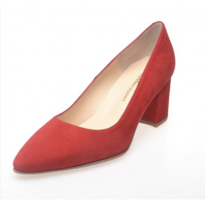 Copenhagen Shoes | Jill suede leather i red