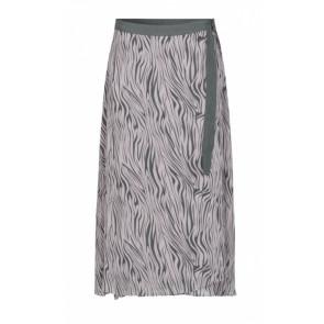 Levete Room   Felicity 2 Skirt i black/rosa