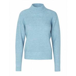 Levete Room | Cille 1 Alpaca Knit i blue