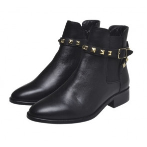 Copenhagen Shoes | Cameron Low Cut Boot i black
