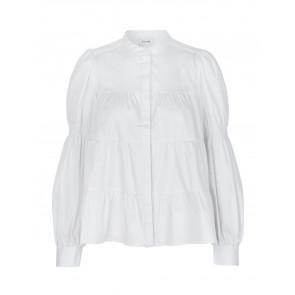 Levete Room | Isla Solid 15 Shirt i White