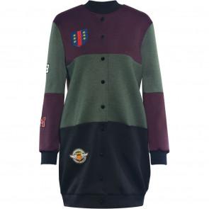 NÛ | Alison Long Oversized Jacket i Army mix 6124