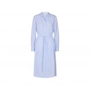 Levete Room | Nanna 3 Dress i Blue/White