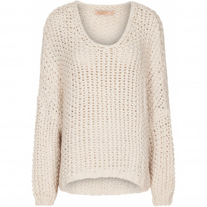 Marta du Chateau | Oversized Knit i Creme