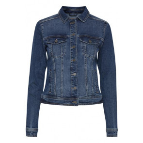 Fransa | Denim Jacket i Dark